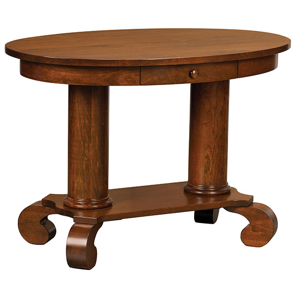Amish Jefferson Study Table | Amish Furniture | Shipshewana Furniture Co.