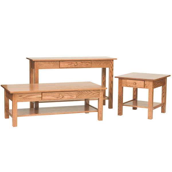 Open Mission Sofa Table
