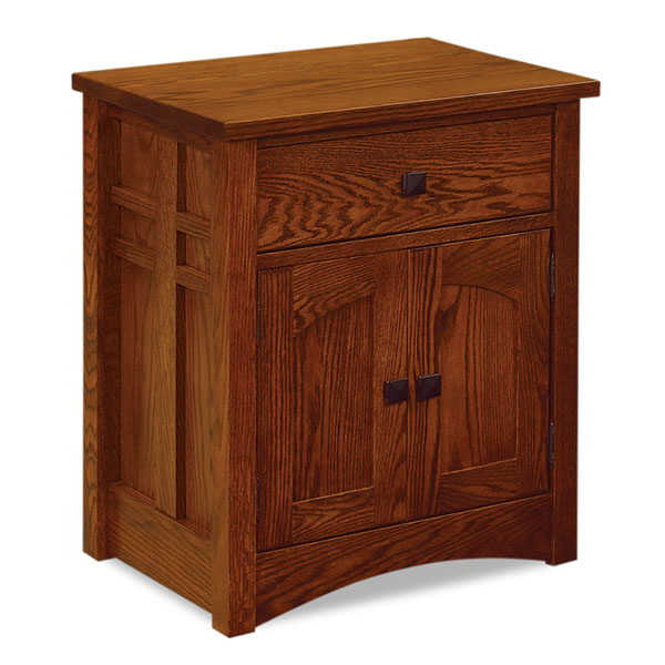 "Kascade 1 Drawer 2 Door Nightstand 28""H"
