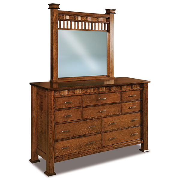 Sequoyah 10 Drawer Dresser