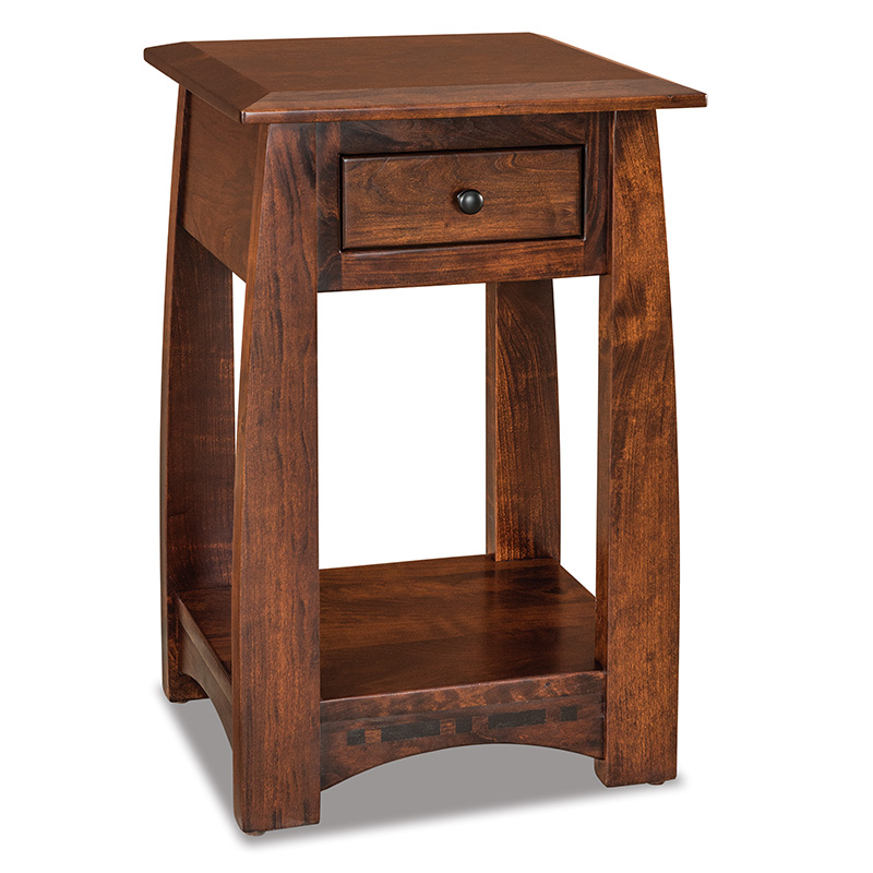 "Boulder Creek 1 Drawer Open Nightstand 18-1/4""W"