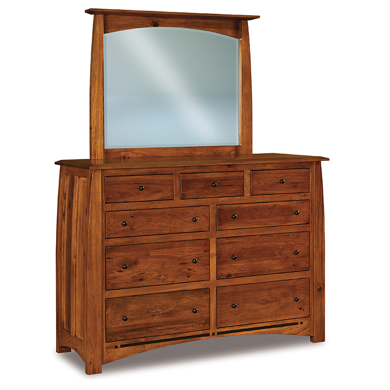"Boulder Creek 9 Drawer Dresser 44""H"