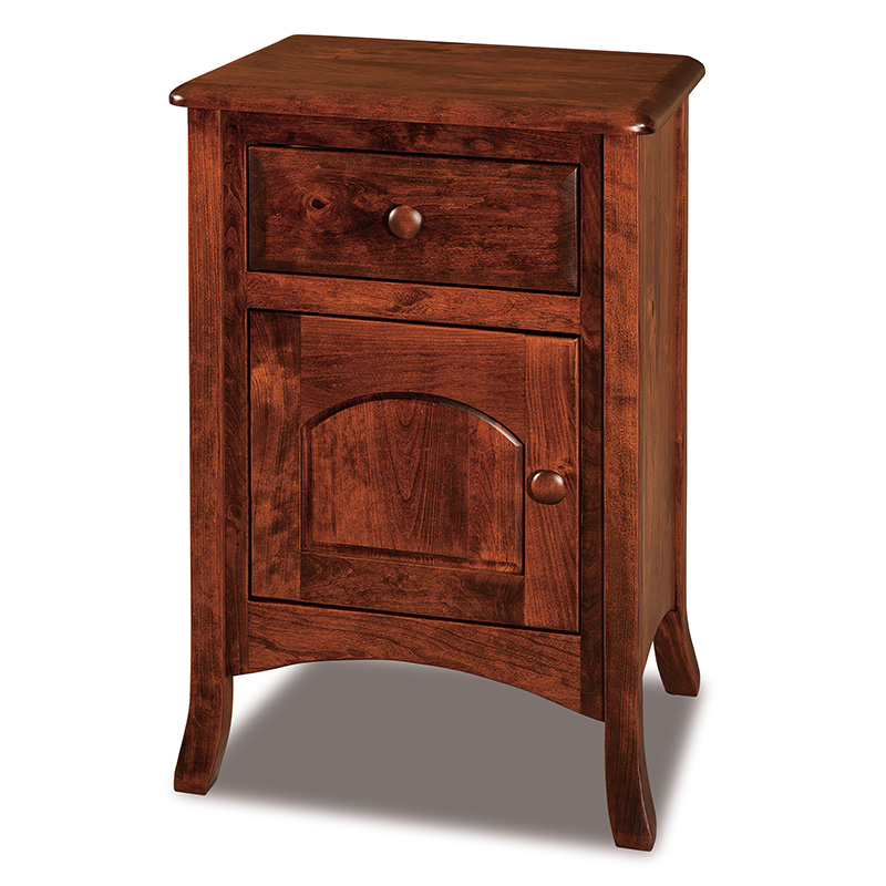 Carlisle Tall 1 Drawer, 1 Door Nightstand