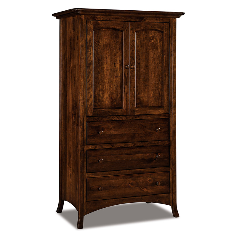 Carlisle 3 Drawer Armoire