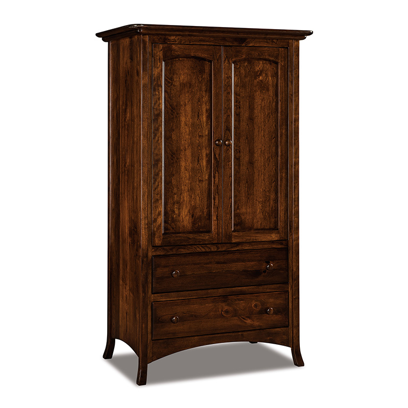Carlisle 2 Drawer Armoire