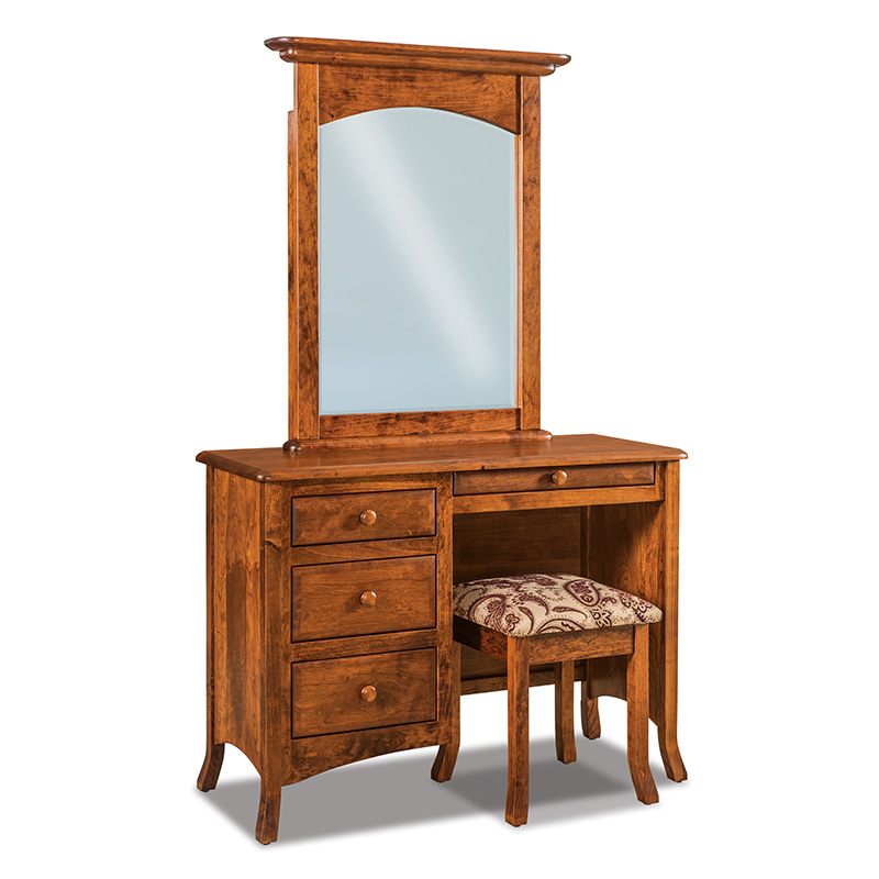 Carlisle Vanity Dresser with Bench