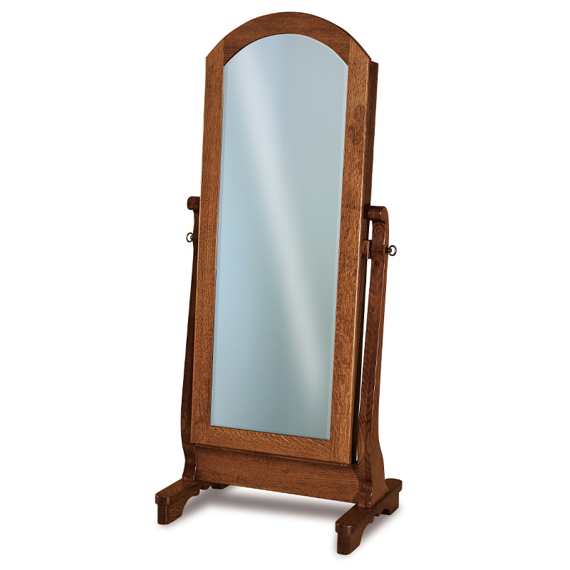 Chippewa Sleigh Jewelry Mirror