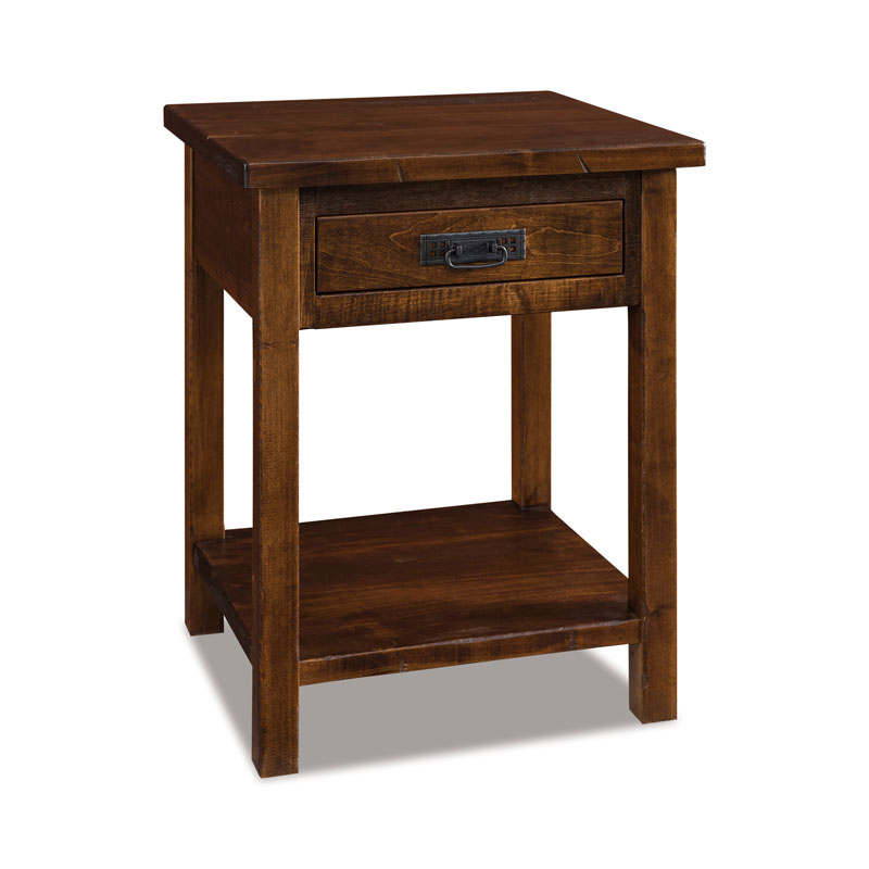 Dumont 1 Drawer Open Nightstand