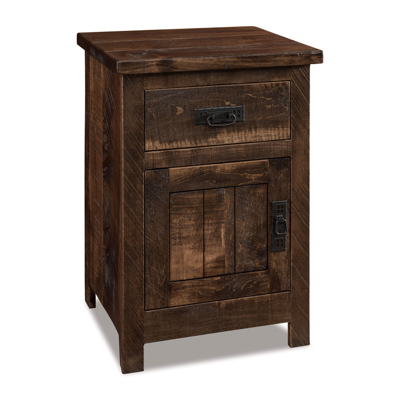 Dumont 1 Drawer-1 Door Nightstand