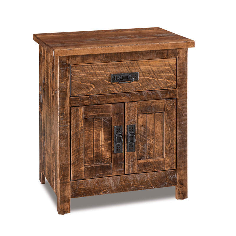 Dumont 1 Drawer 2 Door Nightstand