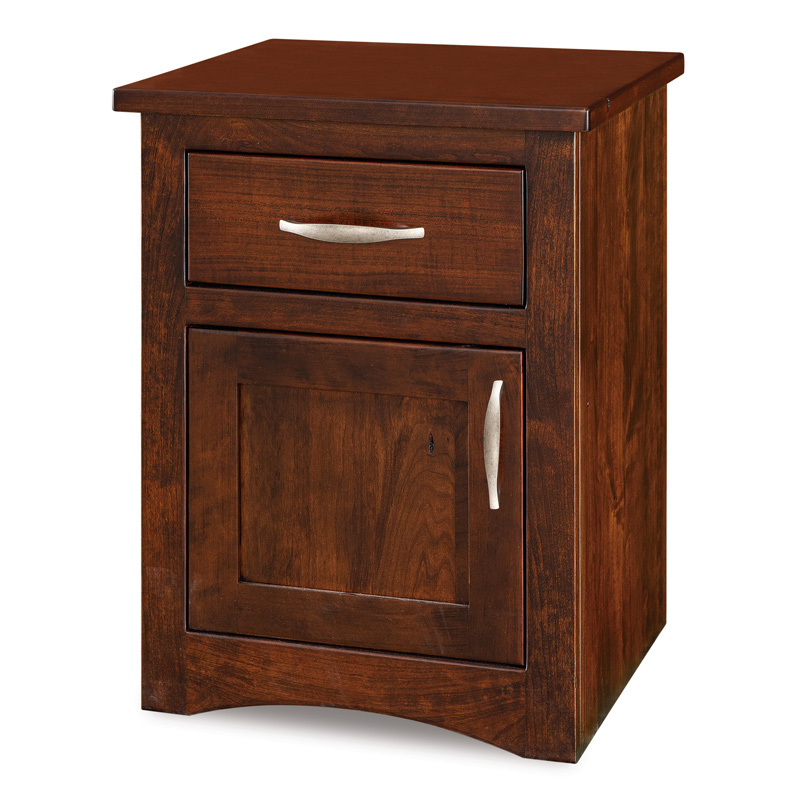 Denver 1 Drawer 1 Door Nightstand