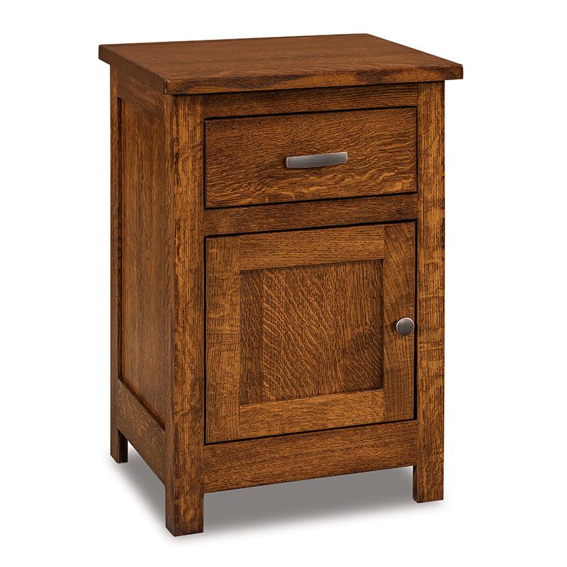 Flush Mission 1 Door, 1 Drawer Nightstand