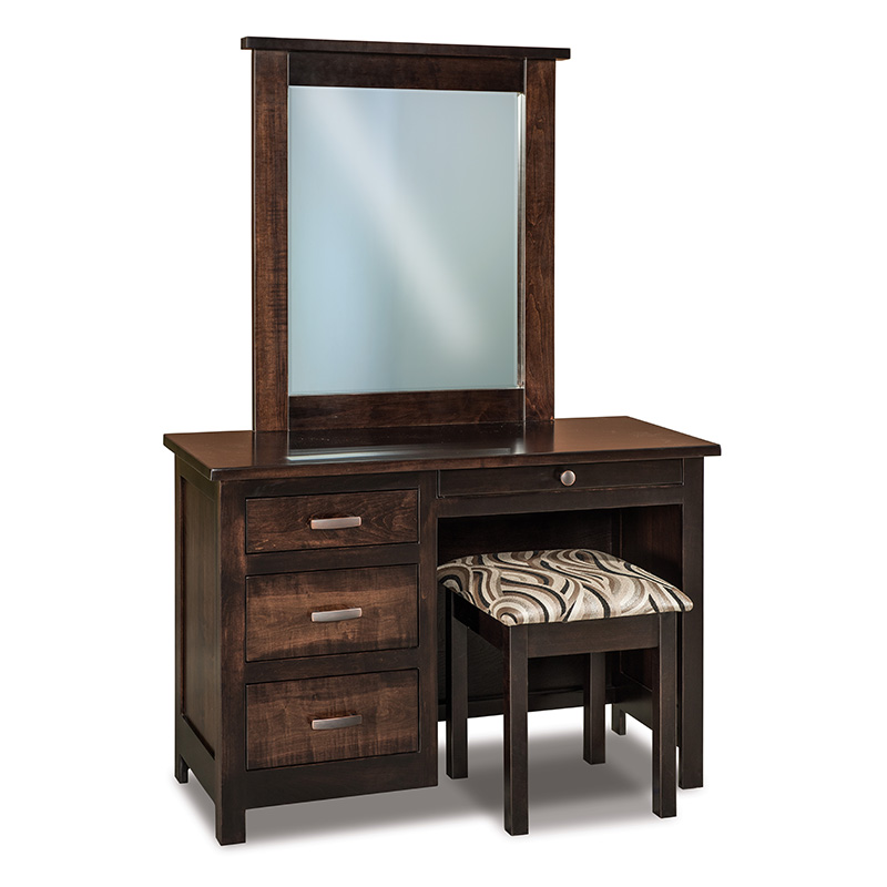 Flush Mission Vanity Dresser w/ Bench