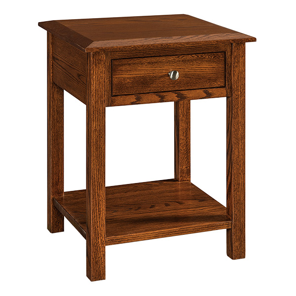 Finland 1 Drawer Open Nightstand