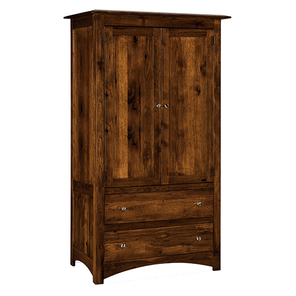 Finland 2 Drawer Armoire