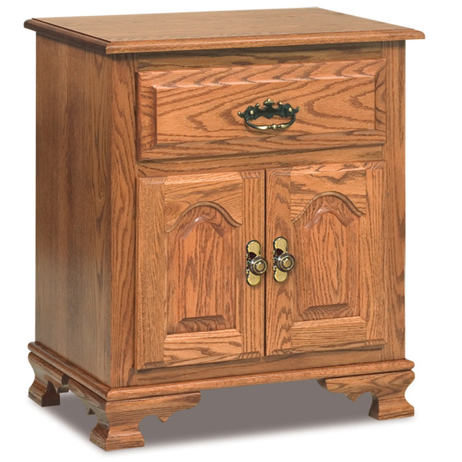 "Hoosier Heritage 1 Drawer, 2 Door Nightstand 29""H"