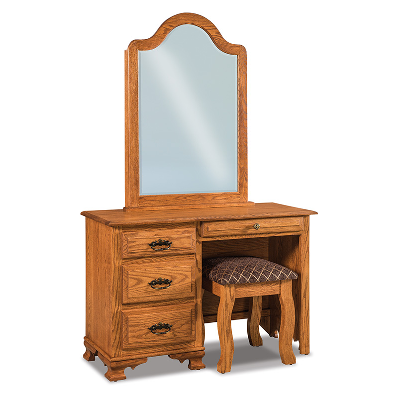 Hoosier Heritage Vanity Dresser with Bench