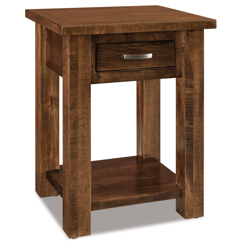 Heidi 1 Drawer Open Nightstand