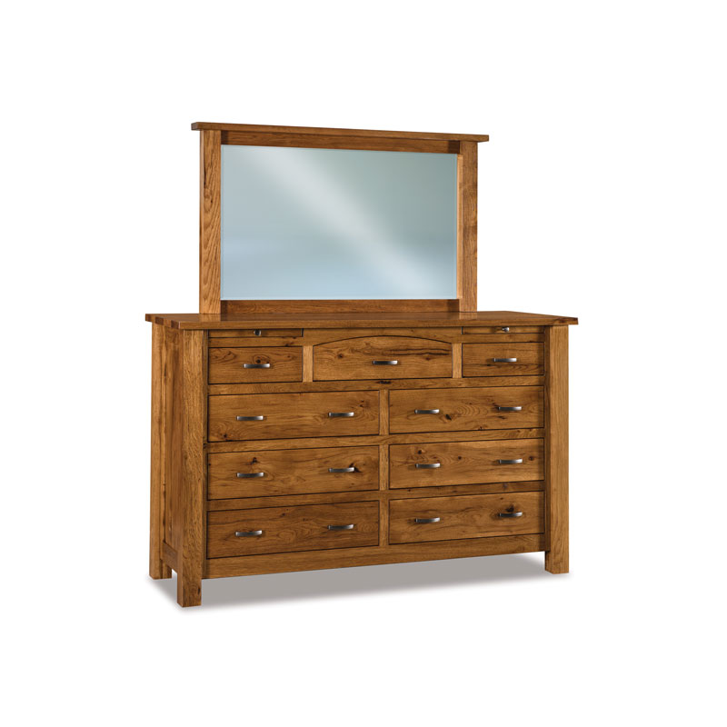 Heidi 9 Drawer Dresser w-jewelry drawers