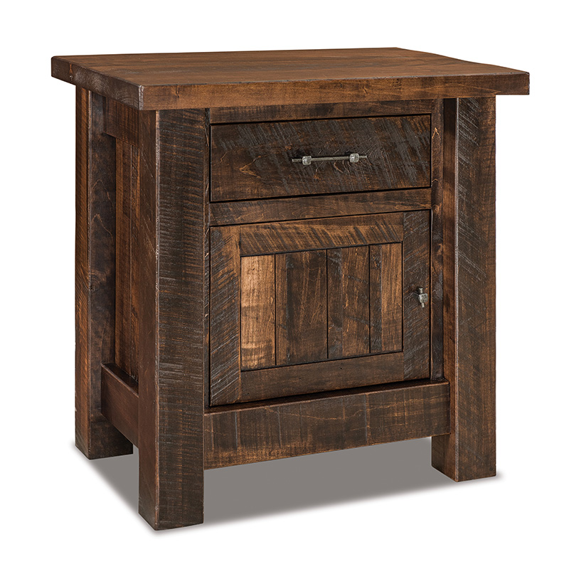 "Houston 1 Drawer, 1 Door Nightstand 30""W"