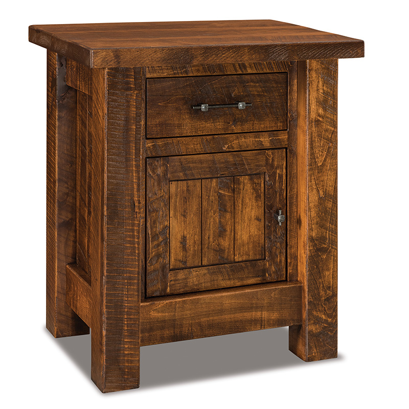 "Houston 1 Drawer, 1 Door Nightstand 27""W"