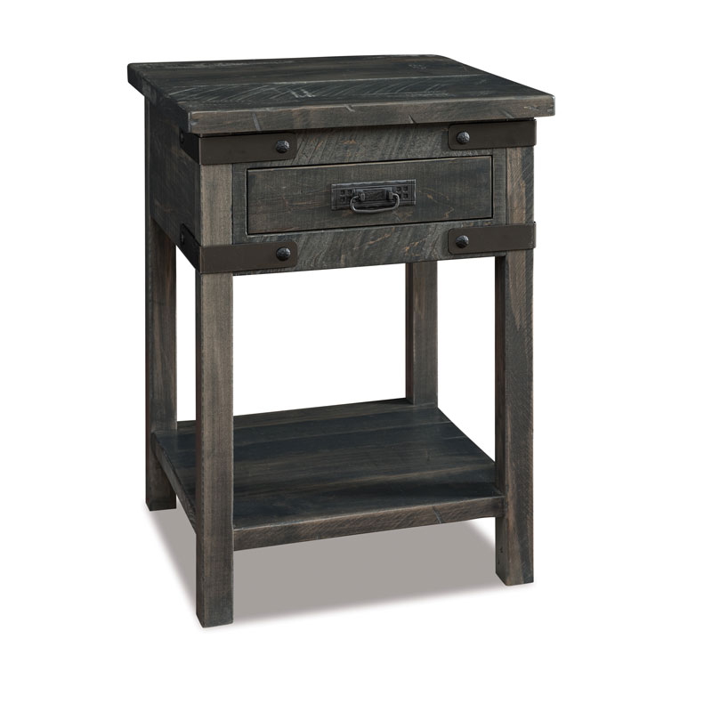 Ironwood 1 Drawer Open Nightstand