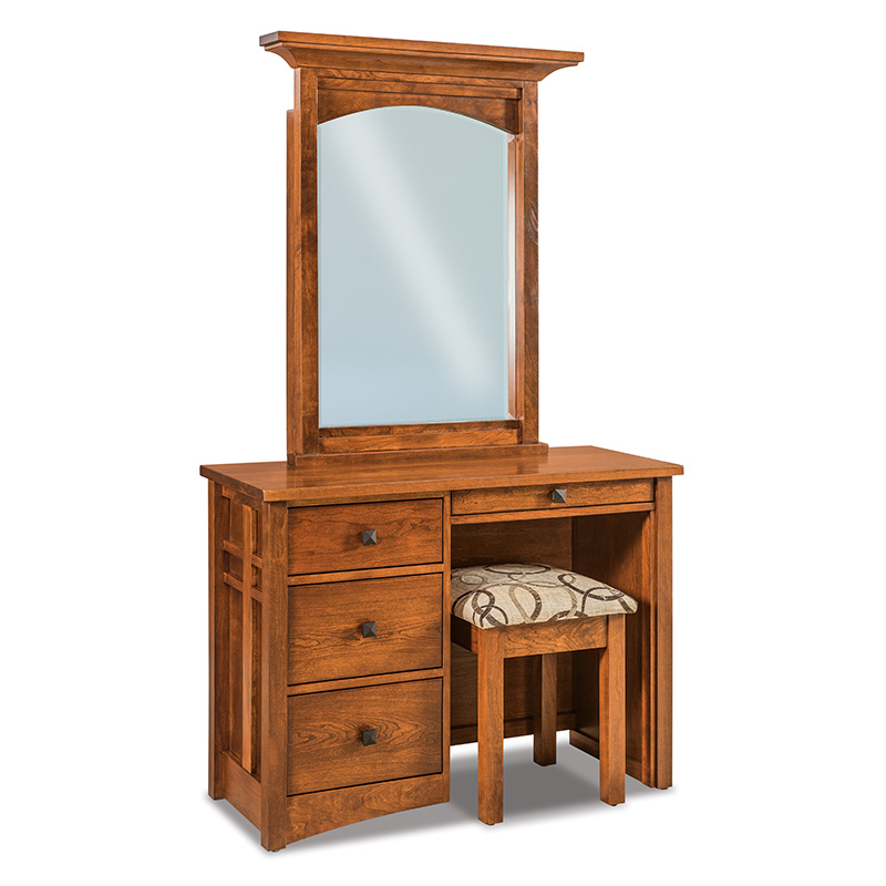 Kascade Vanity Dresser with Bench
