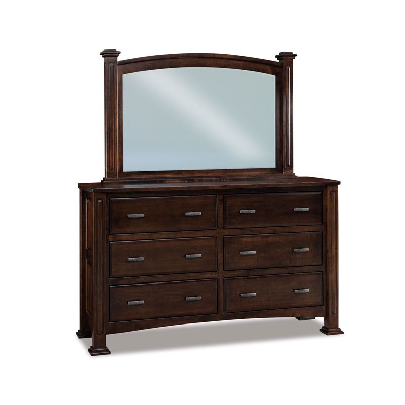 Lexington 6 Drawer Dresser 70""