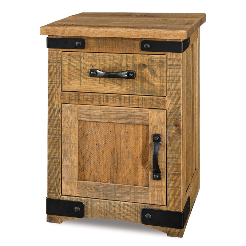 Orewood 1 Drawer 1 Door Nightstand