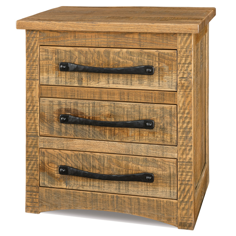 Orewood 3 Drawer Nightstand
