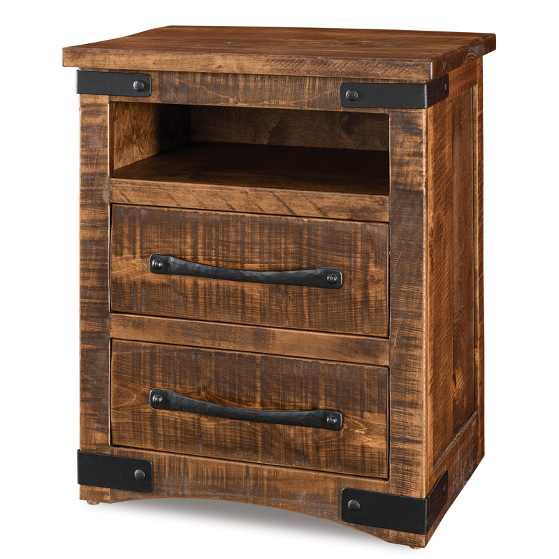 Orewood 2 Drawer Nightstand