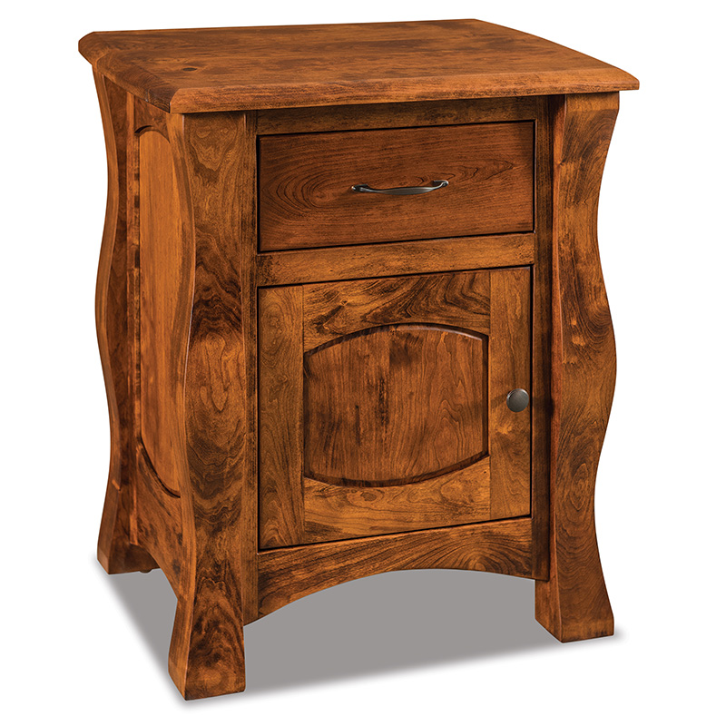 Reno 1 Drawer, 1 Door Nightstand