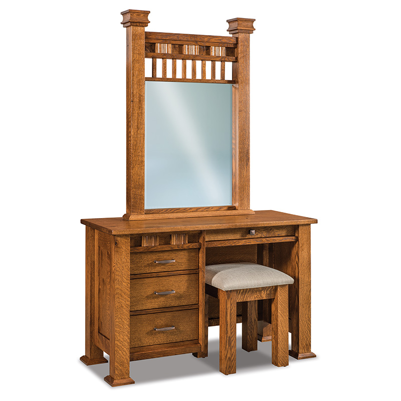 Sequoyah Vanity Dresser with Bench