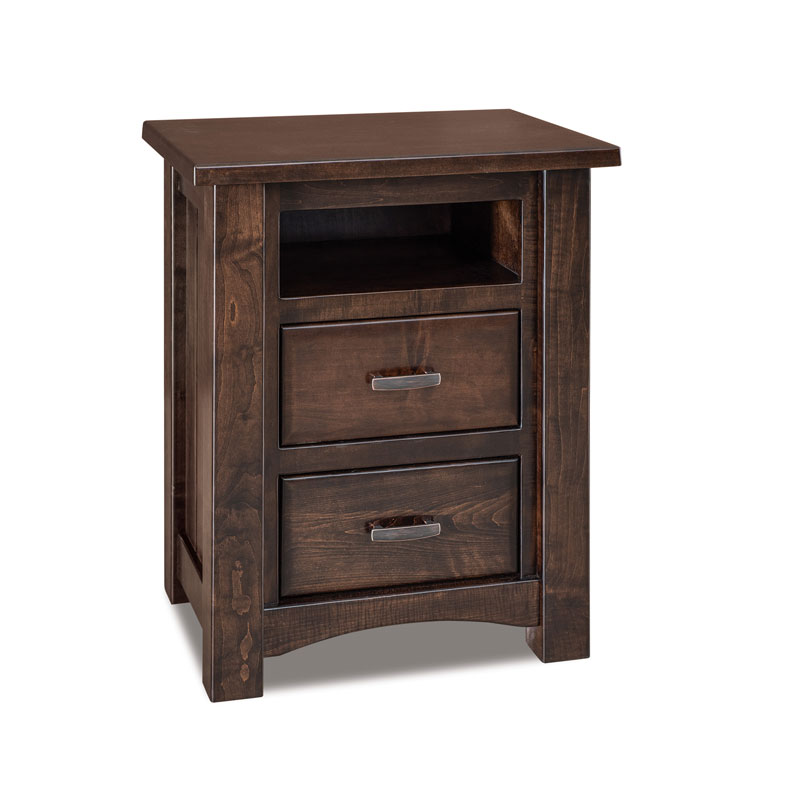 Timbra 2 Drawer Nightstand w/ Opening