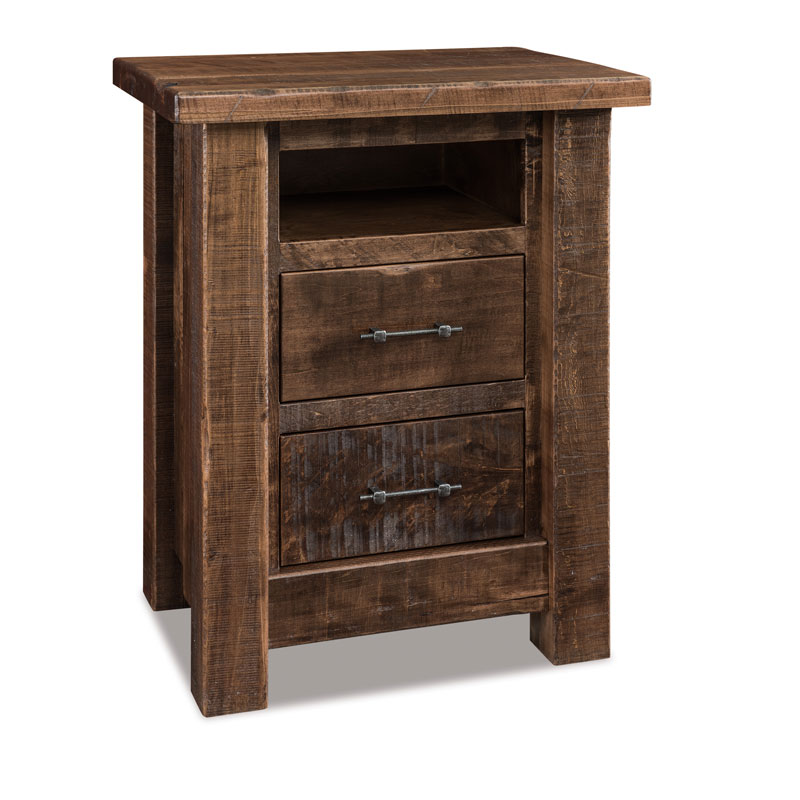 Vandella 2 Drawer Nightstand w/opening