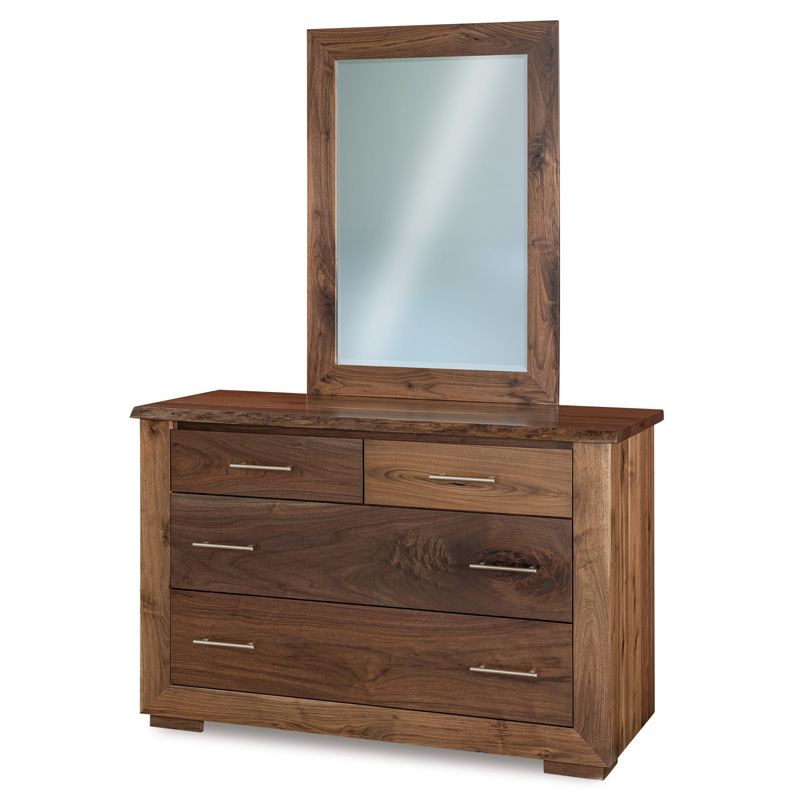 Live Wood 4 Drawer Dresser