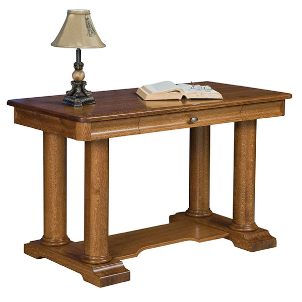 Amish Madison Library Table | Amish Furniture | Shipshewana Furniture Co.