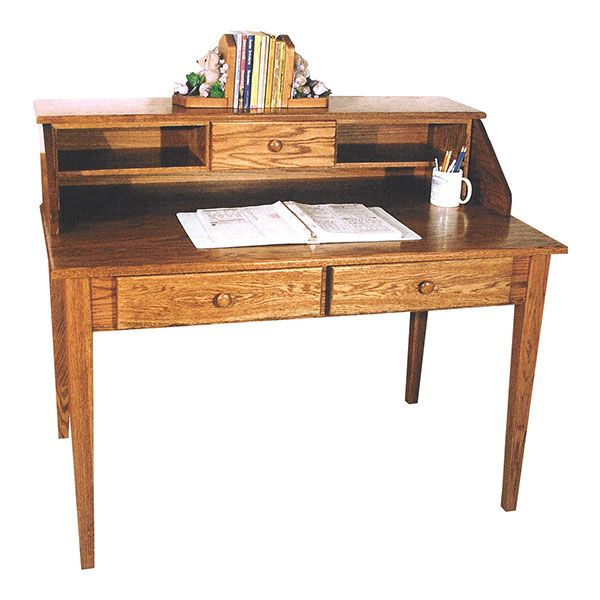 Amish Shaker Paymaster Desk | Amish Furniture | Shipshewana Furniture Co.