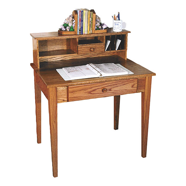 Amish Shaker Writing Desk | Amish Furniture | Shipshewana Furniture Co.