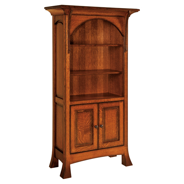 Breckenridge Bookcase with Doors