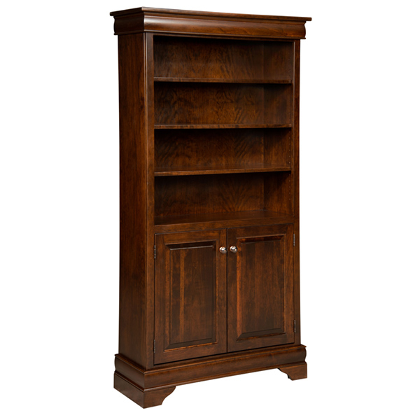 Fairfield Bookcase with Doors