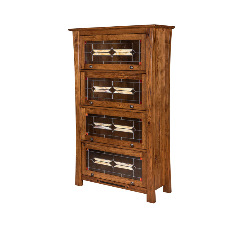 Arts & Crafts Barrister Bookcase