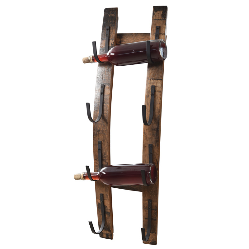 Barrel Stave Bottle Holder