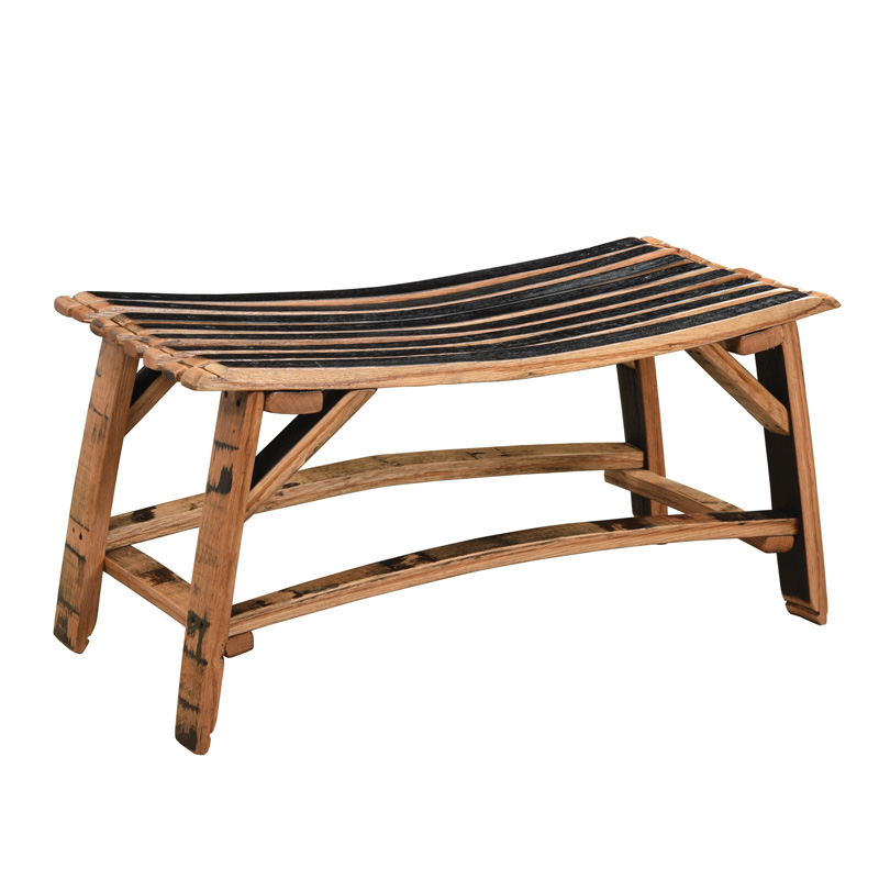 Barrel Stave Bench