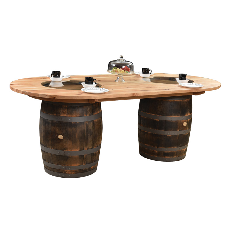 Double Barrel Table