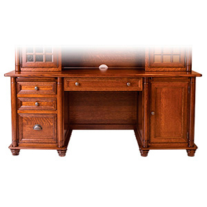 Amish Belmont Credenza Desk | Amish Furniture | Shipshewana Furniture Co.