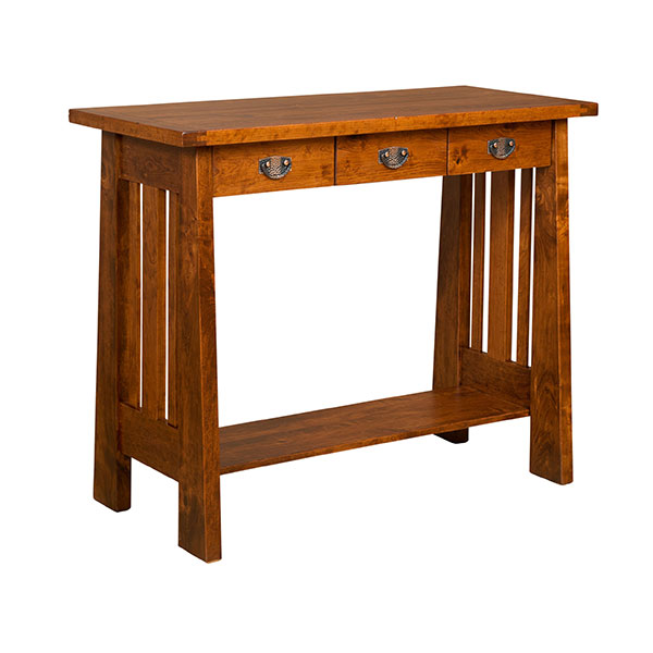 Amish Freemont Mission Open Writing Table | Amish Furniture | Shipshewana Furniture Co.