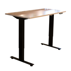 "Adona Adjustable Standing Desk 1"" Top"
