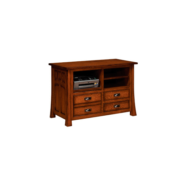 Amish Bridgefort Mission Lateral File Combination | Amish Furniture | Shipshewana Furniture Co.