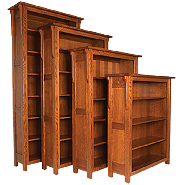 Boston Open Bookcase